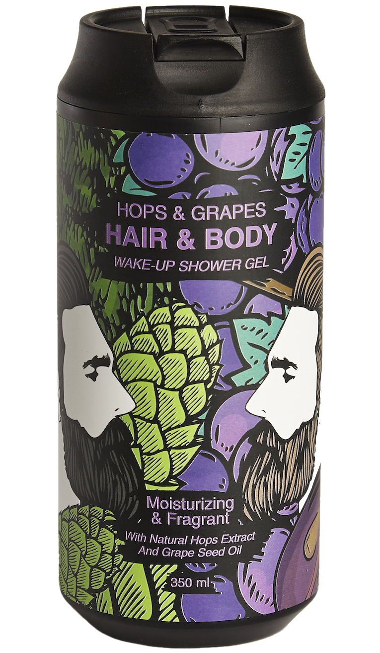 WAKE-UP HOPS&GRAPES HAIR&BODY GEL