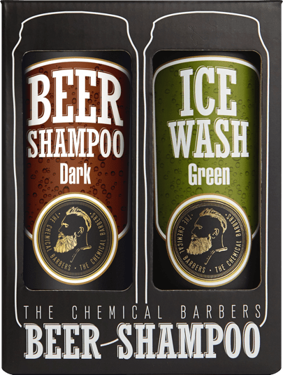 BEER SHAMPOO GIFT SET ARGAN