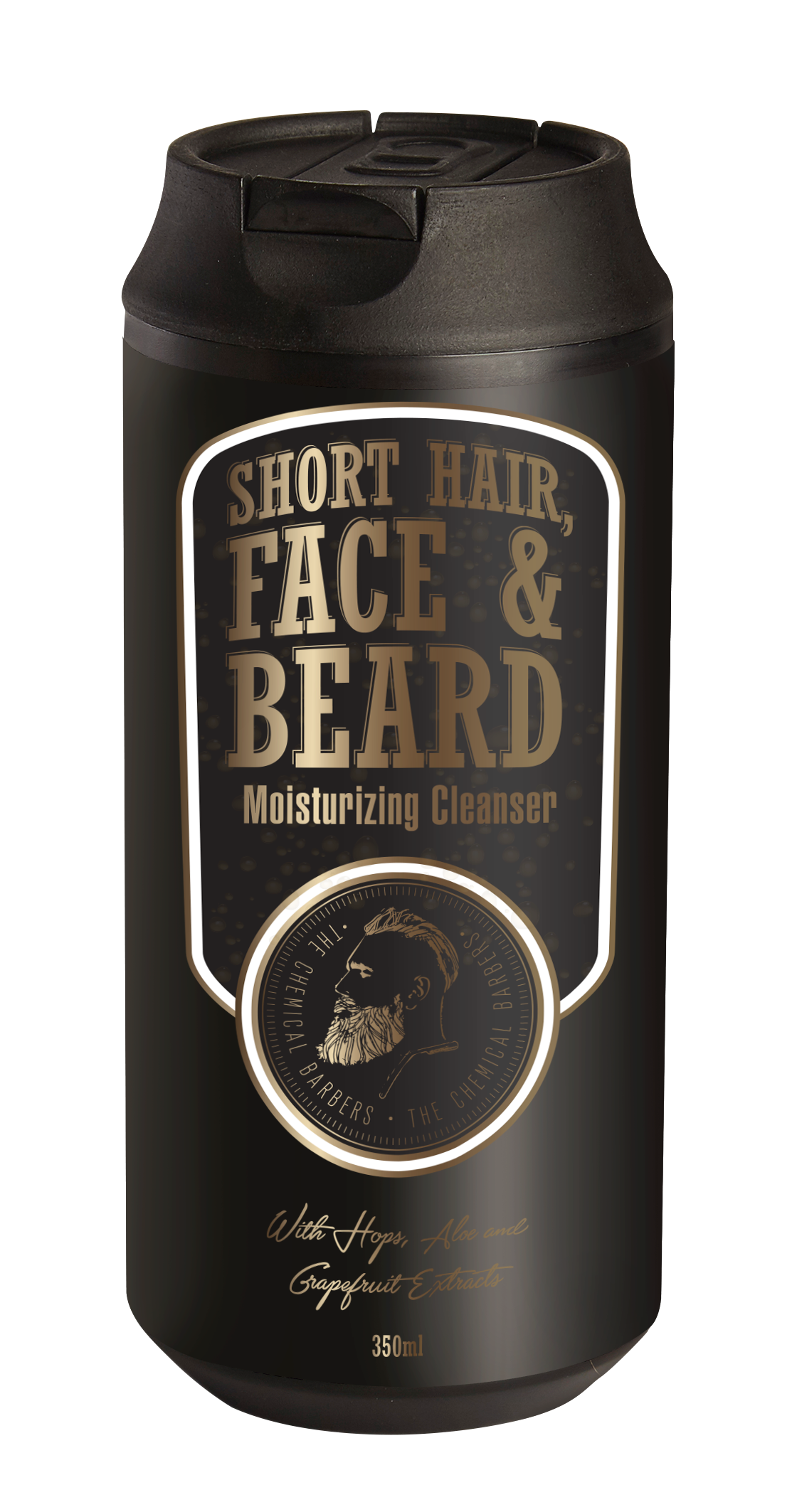 SHORT HAIR, FACE&BEARD MOISTURIZING CLEANSER